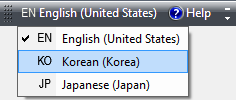 Korean Language Bar